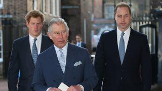 El príncipe Carlos en compañía de sus hijos / Gtres
