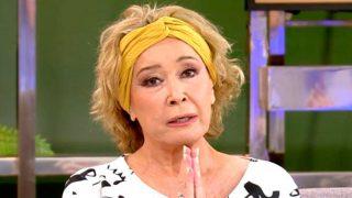 Mila Ximénez en su última aparición televisiva/Telecinco