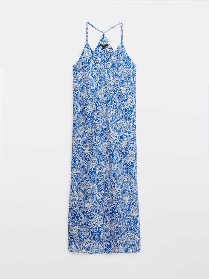 Los vestidos largos de verano de Massimo Dutti rebajados al más puro estilo Letizia