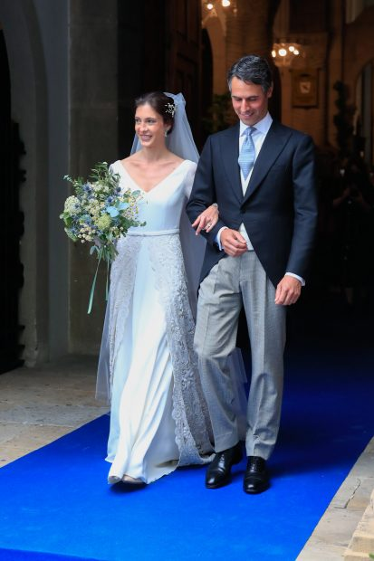 Carlota Pérez-Pla y Pedro Bravo ya son marido y mujer./Gtres