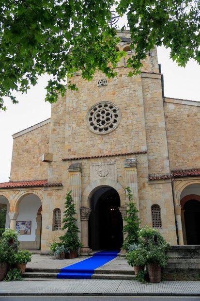 La ceremonia ha tenido lugar en la parroquia de Somió en Gijón -Asturias-./Gtres