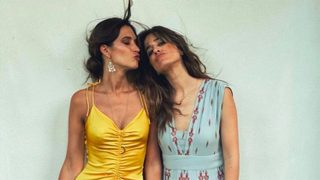 Sara Carbonero e Isabel Jiménez/@saracarbonero