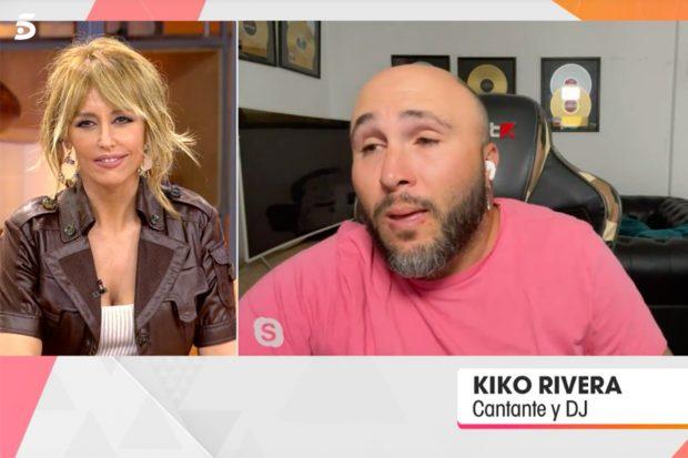 Kiko Rivera ha entrado en directo en 'Viva la Vida' para hablar del homenaje a Mila Ximénez y mandar un bonito mensaje a su mujer, Irene Rosales./Telecinco