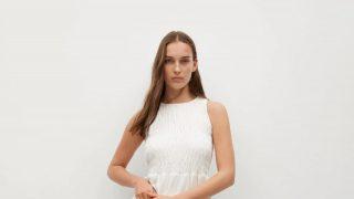 Mango vende la alternativa al vestido ibicenco tradicional más favorecedor y con descuento