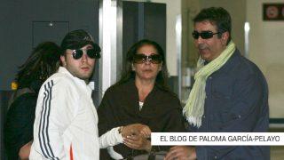 Isabel Pantoja, Agustín Pantoja y Kiko Rivera en una imagen de archivo / Gtres
