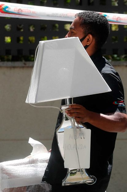 Esta lámpara la herederá Alba Santana / Gtres