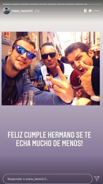 Así ha recordado Manu Tenorio a Álex Casademunt en su cumpleaños / Instagram