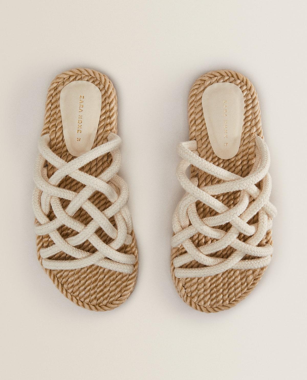 Las sandalias de Zara Home, bonitas y baratas, rompen todos los récords de ventas este verano
