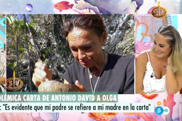 Rocío Flores se ha pronunciado sobre la polémica carta de su padre a Olga Moreno./Telecinco