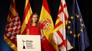 La princesa durante su discurso / Gtres