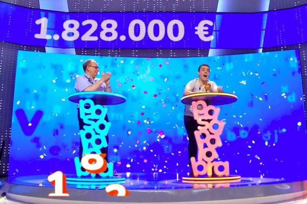 Pablo Díaz se ha llevado el bote final de 1.828.000 euros. /Antena 3