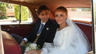 Pascual Sainz de Vicuña y Gabriela Delgado ya son marido y mujer / Gtres