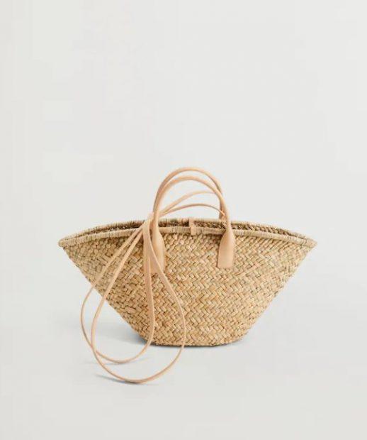 Los capazos y bolsos originales del verano están en Mango Outlet por menos de 10 euros