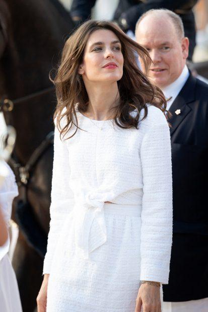 Carlota Casiraghi ha reaparecido tras doce meses fuera del principado de Mónaco./Gtres