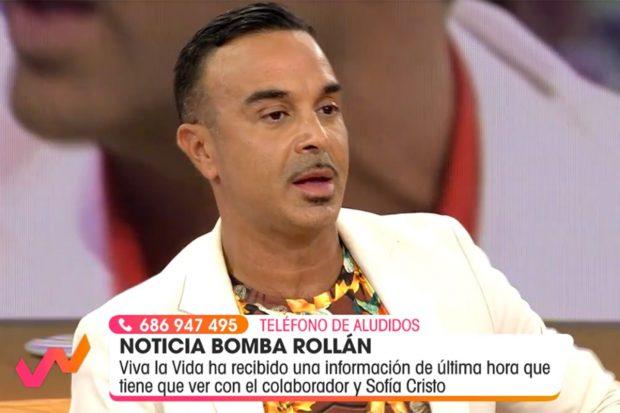 Luis Rollán en 'Viva la Vida'./'Viva la Vida'