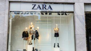 Este es el vestido de alta costura de Zara que se vende a precio de saldo y no está de rebajas