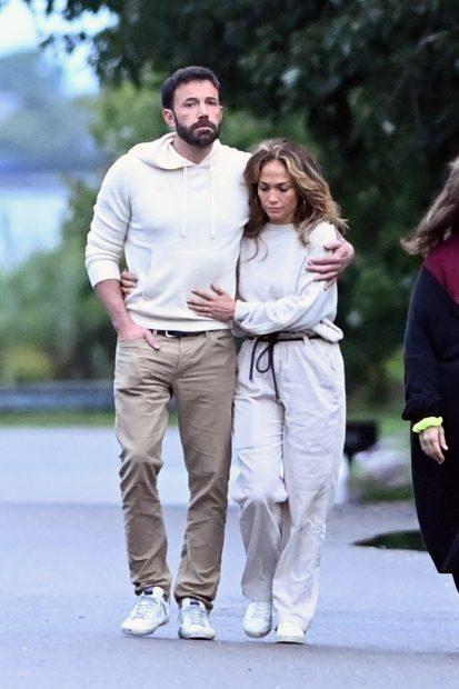 Jennifer Lopez y Ben Affleck de escapada romántica en Los Hamptons (Nueva York)./Gtres