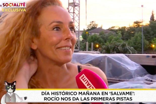 Rocío Carrasco ha hablado en 'Socialité'./'Socialité'