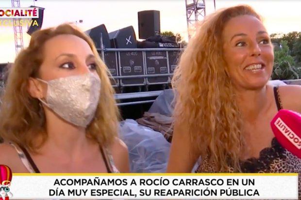 El próximo 5 de julio, Rocío Carrasco se convertirá en la protagonista de 'Sálvame'./'Socialité'