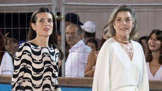 Carlota Casiraghi y Carolina de Mónaco/Gtres