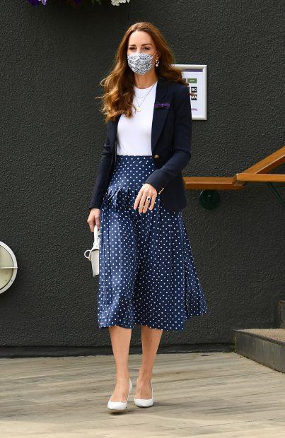 Kate Middleton en su último acto en Wimbledon