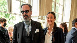 Victoria Federica y Jaime de Marichalar en el desfile de Dior en París / Gtres