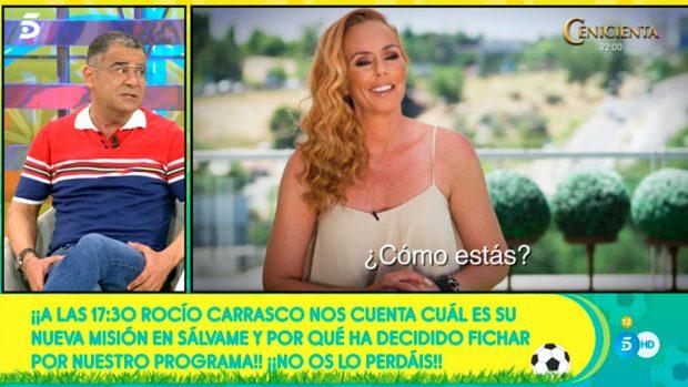 Rocío Carrasco vuelve a Sálvame / Mediaset