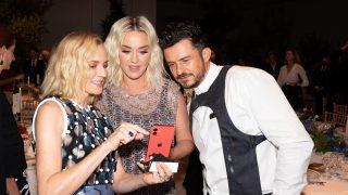 Orlando Bloom, Katy Perry y Diane Kruger / Gtres