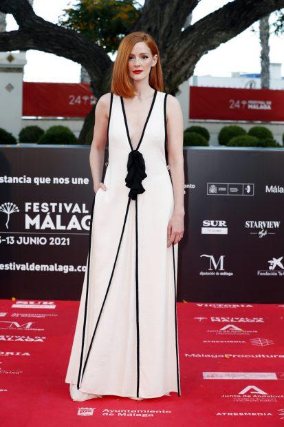 Ana Polvorosa en el 'photocall' del Festival de Málaga 2021./Gtres
