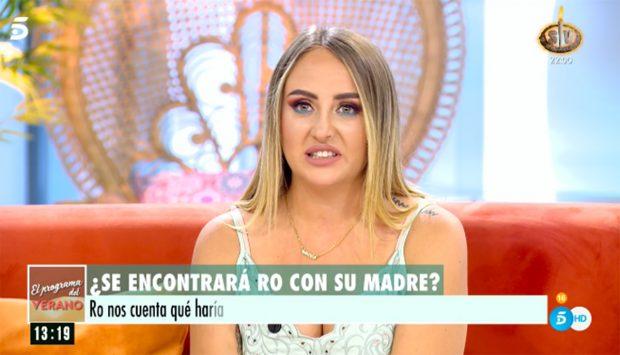 Rocío Flores habla sobre el debut de su madre en 'Sálvame'./Telecinco