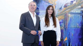 José María Michavila y Rachel Valdés, en ARCO / Gtres