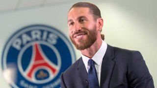 Sergio Ramos ficha por el PSG / Web oficial del Paris Saint-Germain