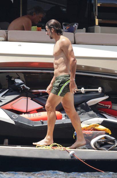 Feliciano López se encuentra en Ibiza de vacaciones./Gtres