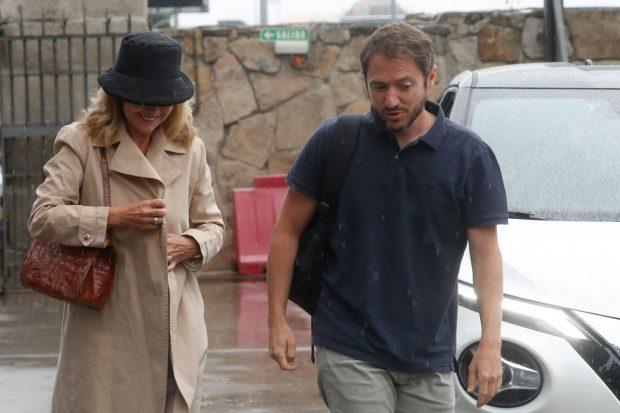 Manuel Martos y su exsuegra, Ana María Rodríguez / Gtres
