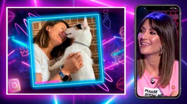 Nagore Robles y su perrito Nash / Telecinco