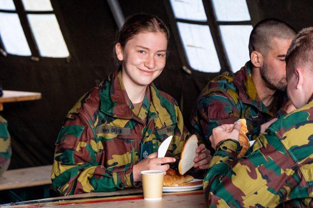 Elisabeth de Bélgica ha completado su primer año en la escuela militar./Gtres