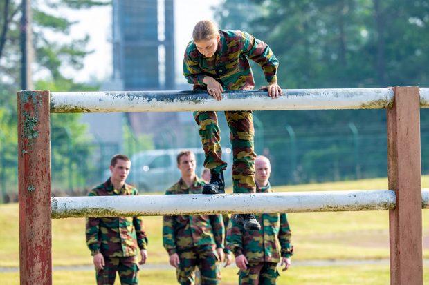 La princesa Elisabeth de Bélgica ha demostrado sus grandes destrezas físicas./Gtres