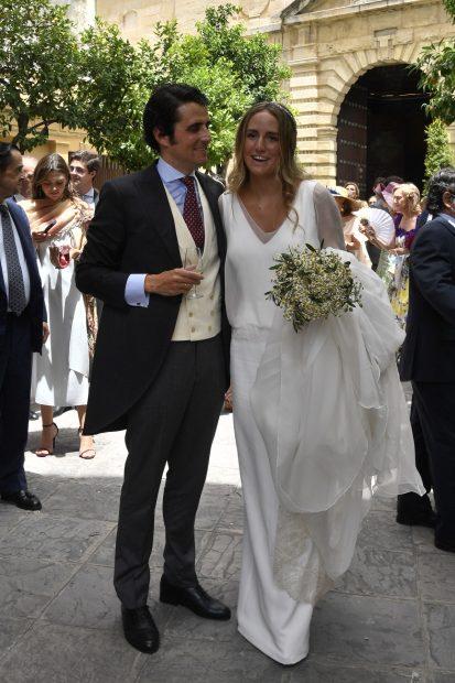 Ymelda Bilbao de la Cierva y Borja Mesa-Jareño ya son marido y mujer./Gtres