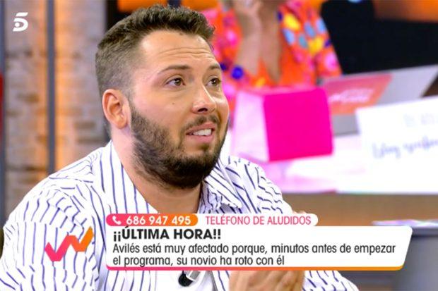 José Antonio Avilés tenía muchos planes con su pareja este verano, según ha relatado el mismo./Telecinco