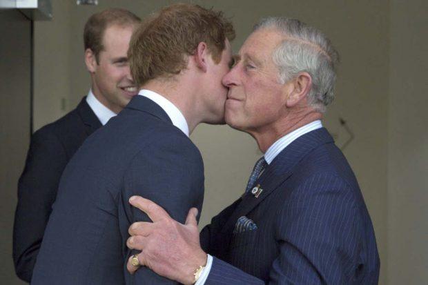 principe Harry, Carlos Inglaterra