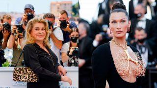 Catherine Denueve y Bella Hadid, el ayer y el hoy del Festival de Cine de Cannes/Gtres