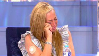 Belén Esteban ha recibido un pañuelo que perteneció a Mila / Telecinco