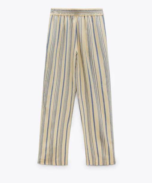 Pantalones estampados Zara