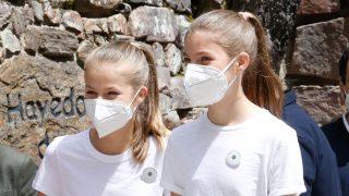 La Princesa de Asturias y la Infanta Sofía en la celebración del acto 'Un árbol por Europa'/Gtres