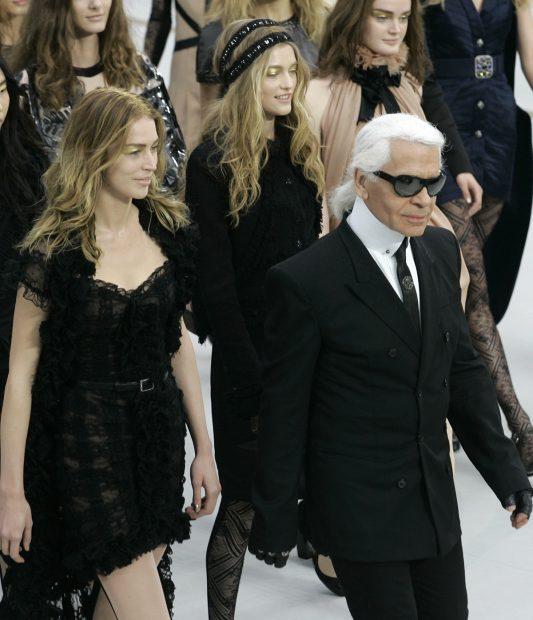 Karl Lagerfeld en una imagen de archivo./Gtres
