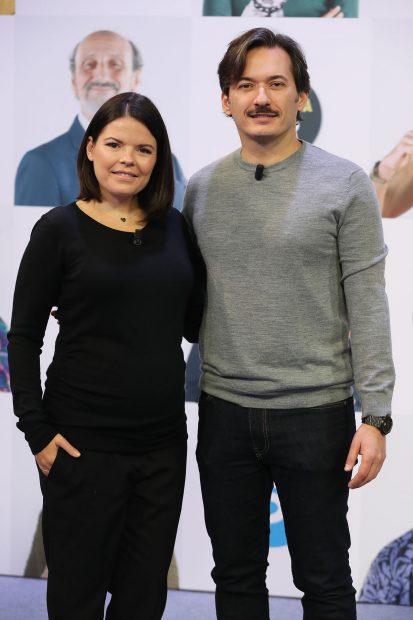 Alberto y Laura Caballero