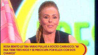 Rocío Carrasco ha contestado a Rosa Benito / Telecinco