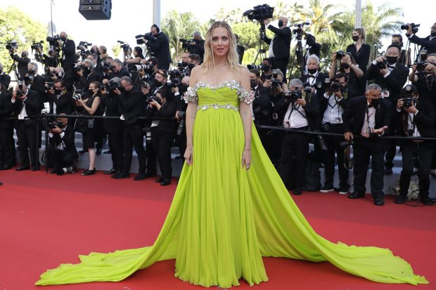 Chiara Ferragni en el Festival de Cannes 2021./Gtres