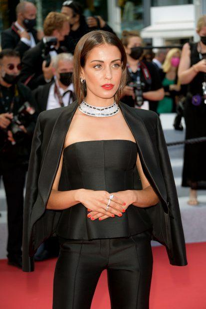 Hiba Abouk en el Festival de Cannes 2021./Gtres