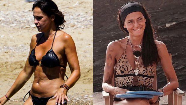 El cambio físico de Olga Moreno./Gtres/@oleyamenbyolgamoreno